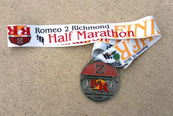 Romeo 2 Richmond medal