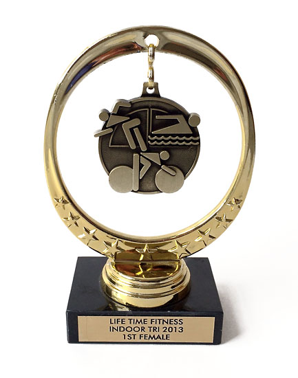 A nice award for my first triathlon