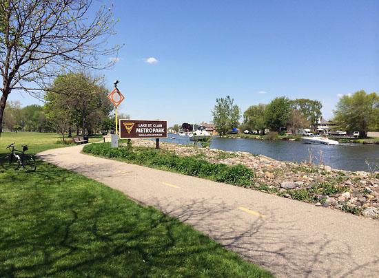 Lake St. Clair Metropark.