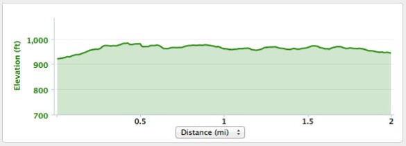 The run elevation map.