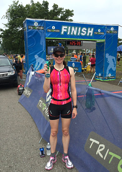 Another triathlon completed!
