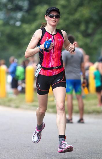 Race for the Border Triathlon on Belle Isle in July.