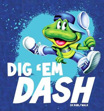Dig 'Em Dash 5K