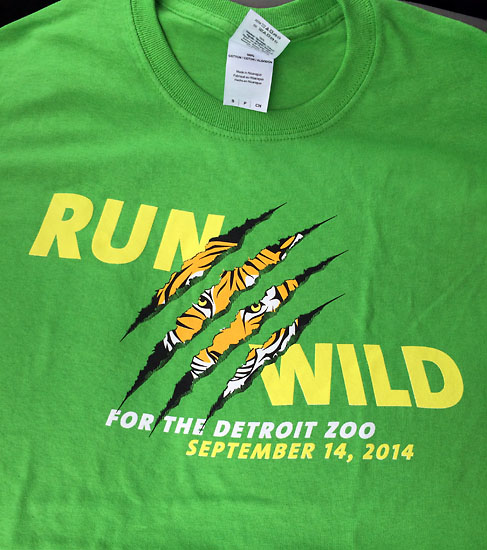 The race t-shirt.