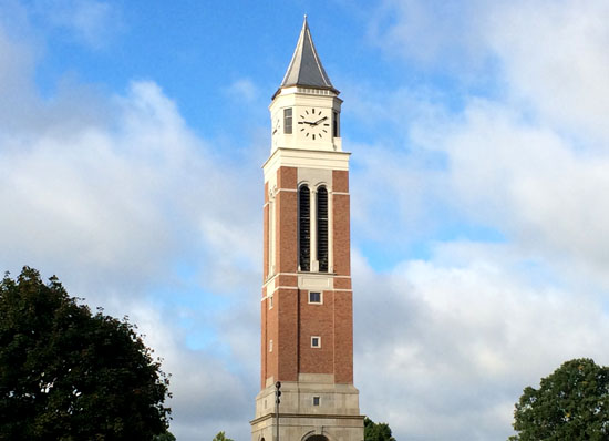 OU's new carillon tower.