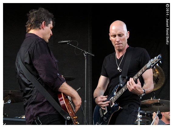 Vertical Horizon playing Naperville's Last Fling festival.