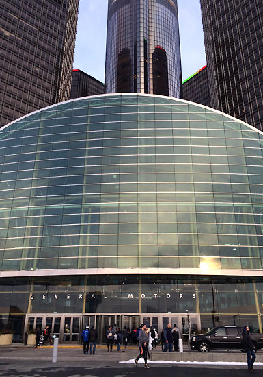 The RenCen.