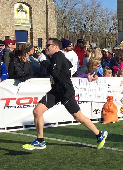 Matt finishing strong!