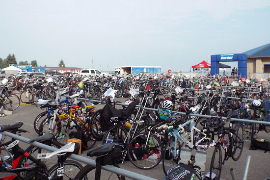 The transition area.