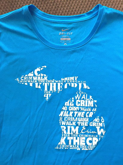 A shirt from Bauman's.