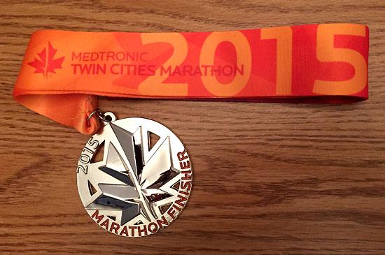 2015-10-04 - tcmarathon medal