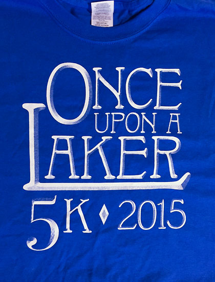 """Once Upon a Laker"" was the homecoming theme."