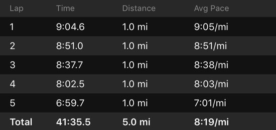 2016-11-11-richmond-marathon-splits