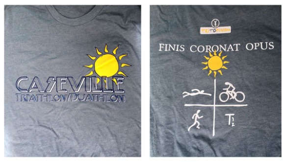"The front and back of the shirt. ""The finish crowns the work."""