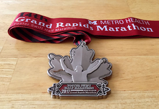 2017-10-15 - grmarathon medal