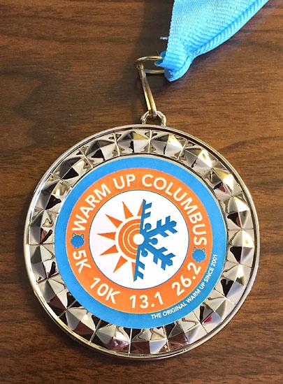 20180218 - warm up columbus medal