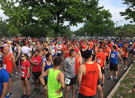 2018-06-16 - corp cup 5k start