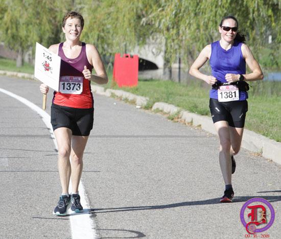 20180916 - detroit womens half pace group2