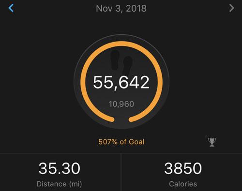 2018-11-03 - indy steps