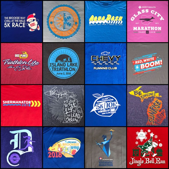 2018 race shirts