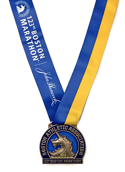 2019-04-15 - boston medal