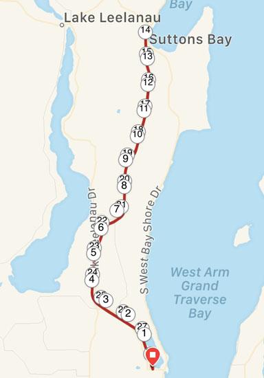 2019-05-26 - leelanau trail