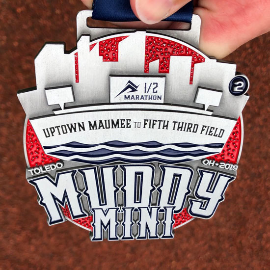 2019-06-15 - muddy mini medal