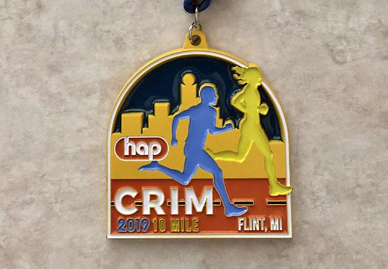 2019-08-24 - crim medal