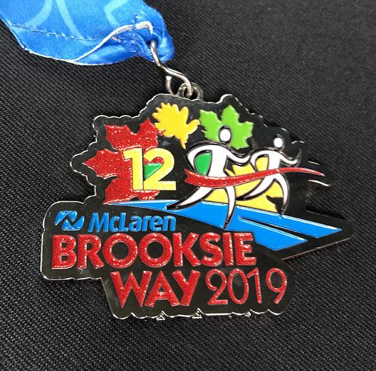 2019-09-22 - brooksie medal