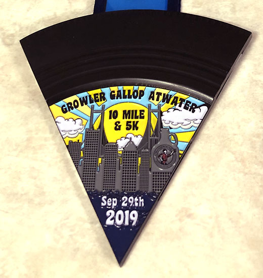 2019-09-29 - growler gallop medal