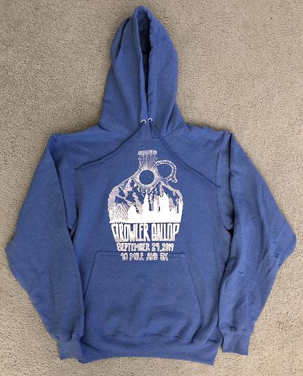 2019-09-29 - growler gallop sweatshirt
