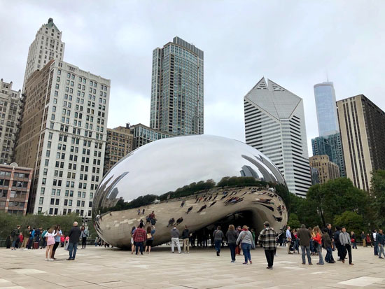 2019-10-13 - chicago marathon bean