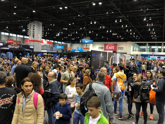 2019-10-13 - chicago marathon expo1