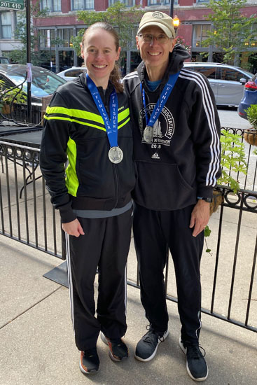 2019-10-13 - chicago marathon janet tom