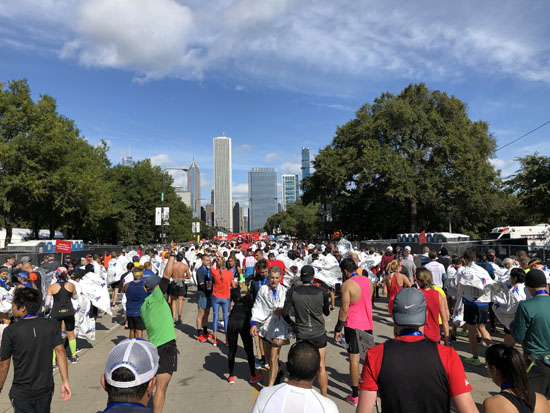 2019-10-13 - chicago marathon post race2