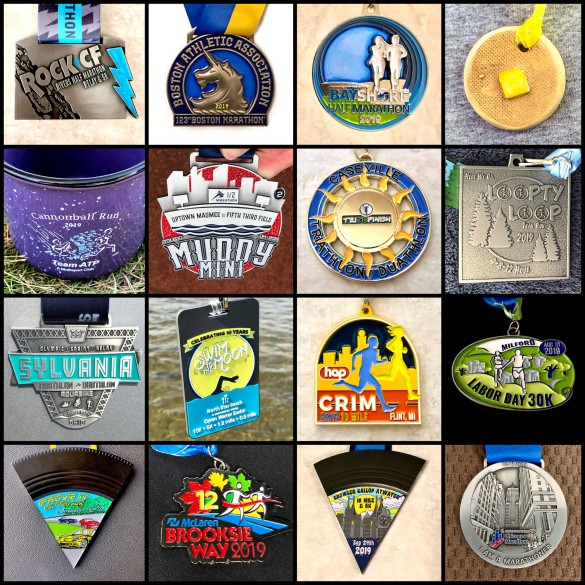 2019 medal collage