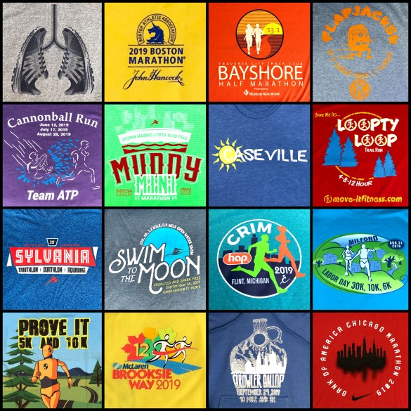 2019 shirt collage